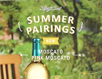 Liberty Creek Winery _ Moscato & Pink Moscato
