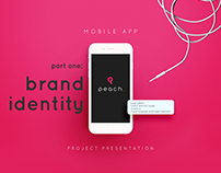 Peach Fitness App - Part One: Brand Identity