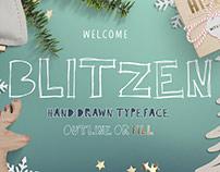 Blitzen Display Font