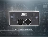 NES controller redesign concept