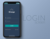 Omege - Login Screen, Signup, Forgot Password