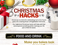 Christmas ideas infographic