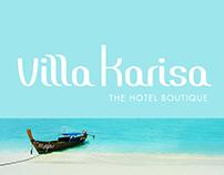 Villa Karisa Hotel Boutique Bali, Indonesia - Branding