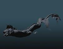 Dragon Fish Design