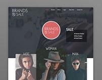 Brands Sale ( UI Design )