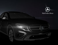 Cinema 4D Test - mercedes benz