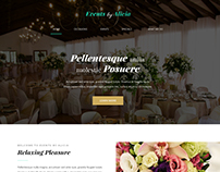 Events by Alicia Website Design