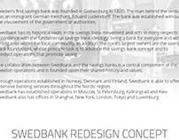 Swedbank Redesign Concept