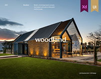 Woodland - Company That Designs And Builds Houses.