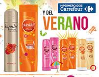 Publicaciones media página A4 - Hipermercados Carrefour