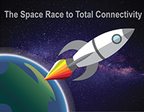The Space Race to Total Connectivity