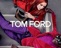 TOM FORD — Website Redesign