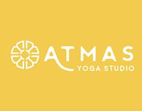 ATMAS Yoga Studio Rebranding Concept