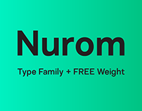 Nurom - Type Family + Free Weight
