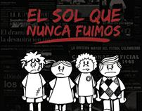 """""""El Sol que Nunca Fuimos"""" (Graphic Novel)"""