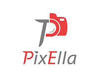 PixElla logo design for phoptographer