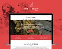 PetsandFood Milano #Website e Shop Online