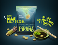 PIRAÑA SNACKS