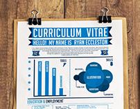 Infographic resume 2012