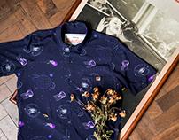 Dion Ochner camisas seda Raiom Paraíso e Hermética #4
