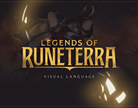 Legends of Runeterra Visual Identity
