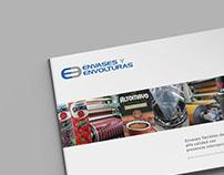 Envases y Envolturas - Diseño web y editorial