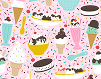 Ice Cream | Surface Design
