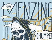 The Menzingers 2015 tour poster