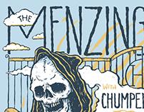 The Menzingers 2015 tour poster