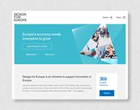 Design For Europe: Creating a platform to promote desig