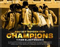 ABU 1st Boysen Cup