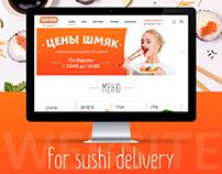 WEBSITE || SAYORI || SUSHI DELIVERY