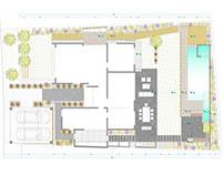 Proyecto Exterior Casa Mediterránea en Chicureo