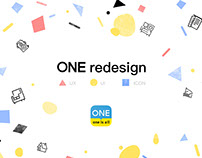 ONE 3.0 Redesign