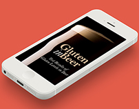 Gluten in Beer mobile app