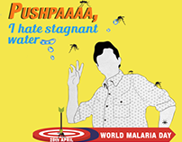 Medlife - World Malaria Day - Social Media Campaign