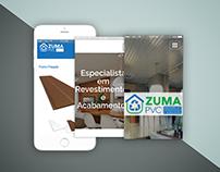 Zuma PVC - Site Responsivo