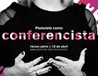 [Encuentro Latinoamericano de Diseño UP]