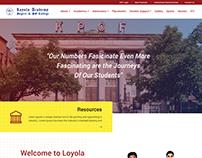 Redesign Of Loyola Website