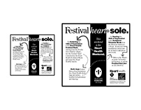 Heart Health advertisements and brochures