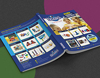 Catalog design and layout/Mad About Science 2019-20