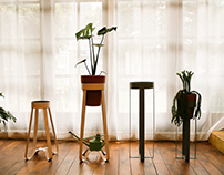 LINGUINE PLANT STAND