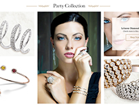 Priority Jewels Concept Website Theme