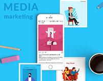 Digital Media Marketing for Viintro App