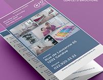 CHD Leaflet Brochure