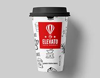 Elevato Caffe Gourmet - Branding & Packaging