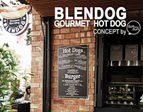 BLENDOG - Gourmet Hot Dog - concept by dumdum design