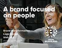 Biuroland - A brand focused on people