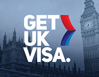 Get UK Visa Logo & Website