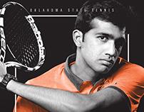 2016 Oklahoma State Men's Tennis Poster